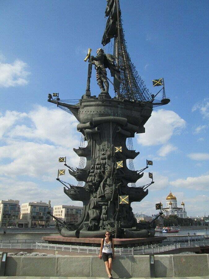 Pietro il Grande Statua